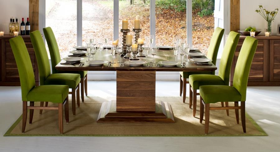 Diseos de interiores en color verde  Decoracion de