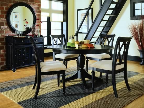 Diseos de interiores sobrios y elegantes en color negro