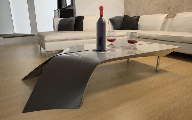 Mesas ratonas modernas y originales  Decoracion de Interiores