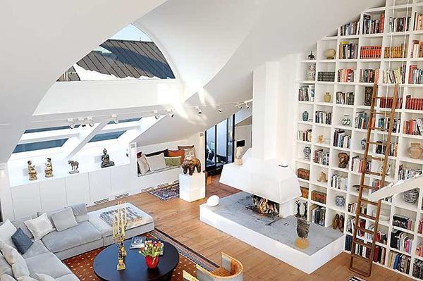 Diseos de interiores de techos altos  Decoracion de Interiores