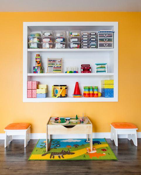 Cmo organizar los juguetes de los nios  Decoracion de Interiores