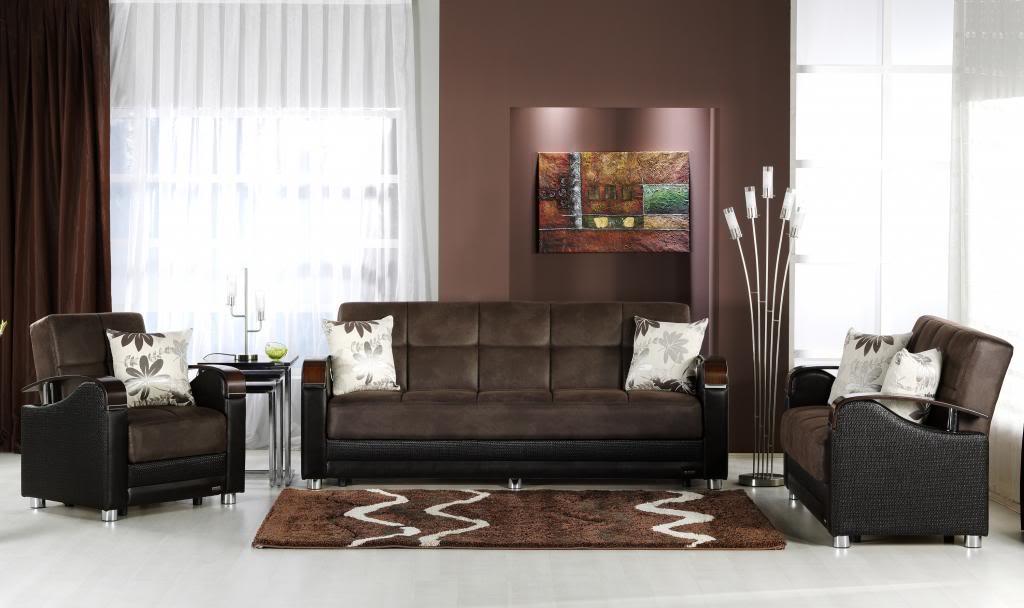 Decoracin de salas en color marrn  Decoracion de Interiores