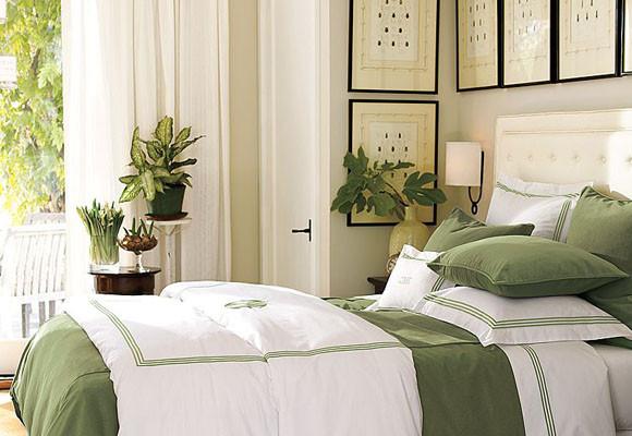 Hermosos interiores decorados en verde  Decoracion de