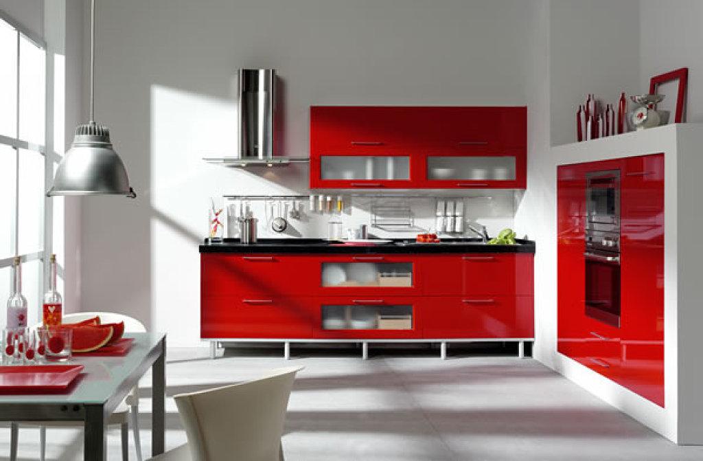 Diseos modernos en color rojo  Decoracion de Interiores