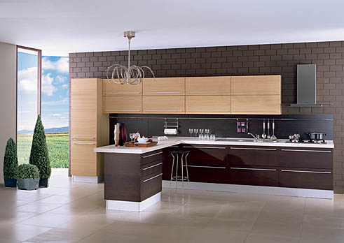 Muebles de cocina modernos en melamina  Decoracion de