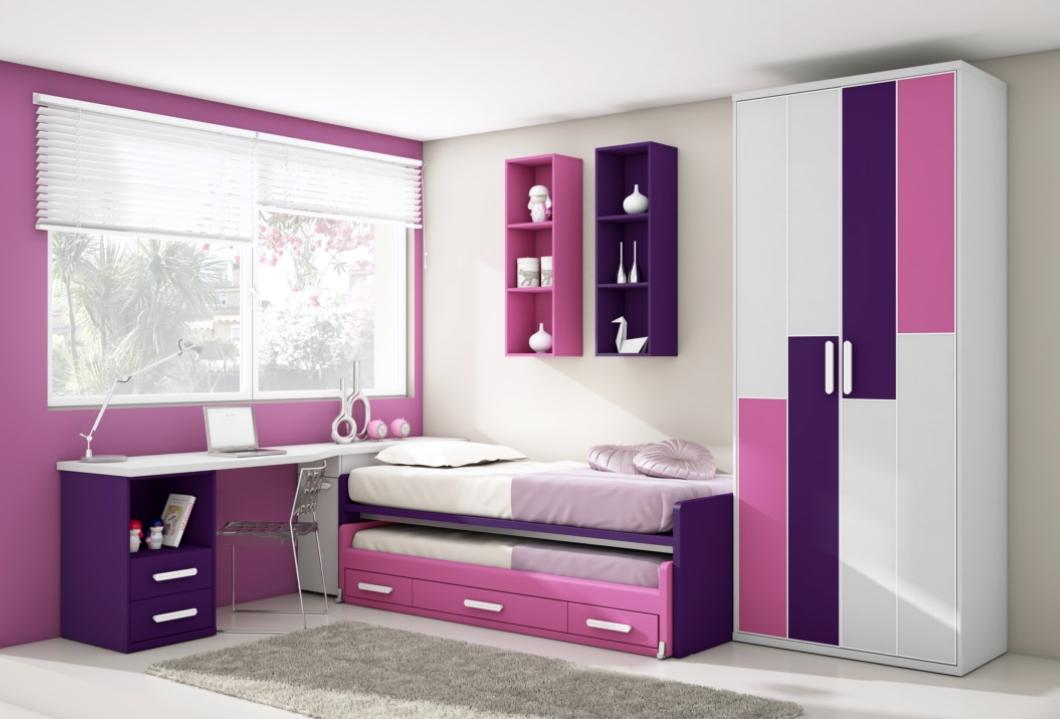 Dormitorios En Color Lila Decoracion De Interiores