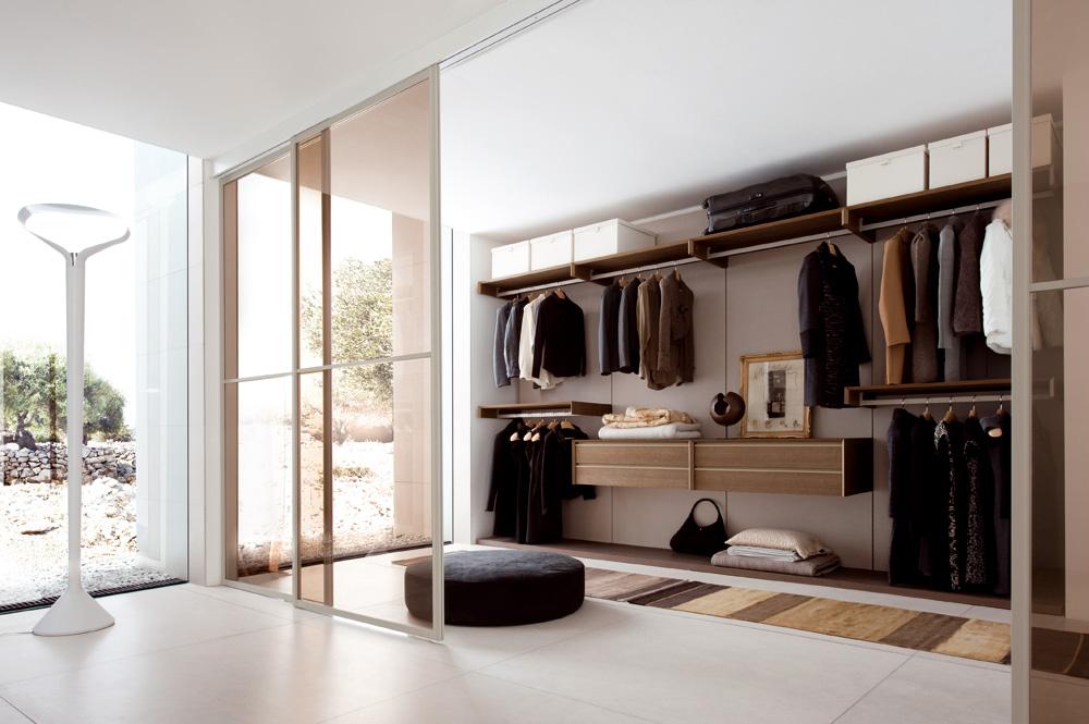 Modernos vestidores para dormitorios  Decoracion de