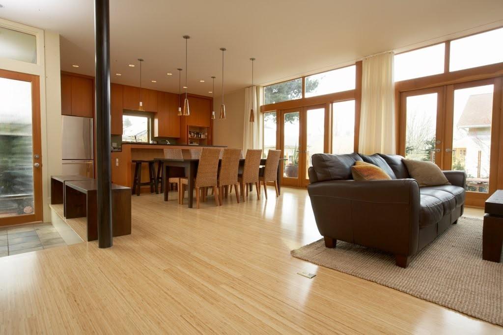 Interiores modernos con pisos de madera ParteII