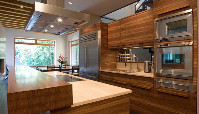 Decoracin moderna de cocinas en madera  Decoracion de