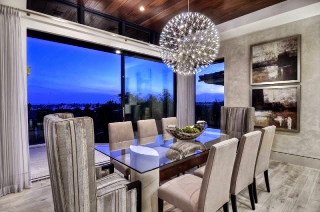 Diseos de comedores elegantes y modernos  Decoracion de Interiores