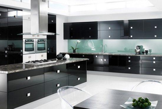 Colores modernos para decorar cocinas  Decoracion de