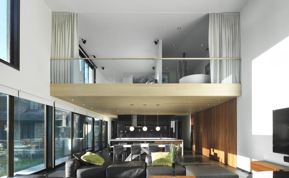 Fantsticos diseos de doble altura  Decoracion de Interiores