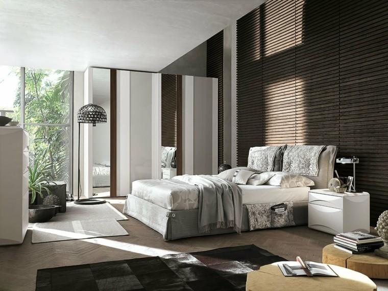 Dormitorios matrimoniales modernos  Decoracion de Interiores