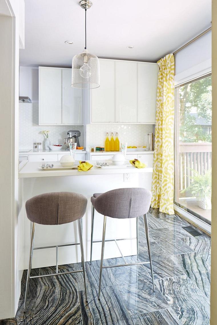 Ideas para cocinas pequeas  Decoracion de Interiores