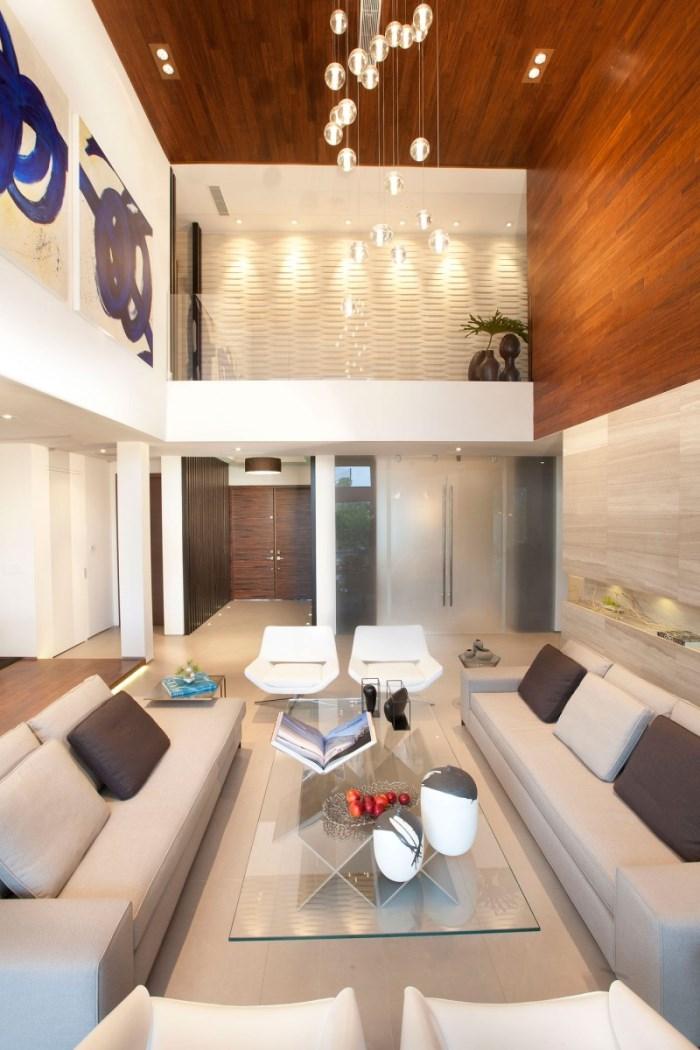 Iluminacin moderna de salas  Decoracion de Interiores
