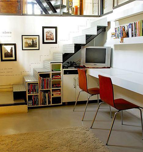 Pequeo estudio en casa  Decoracion de Interiores