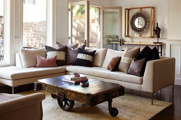 Salas en color beige  Decoracion de Interiores