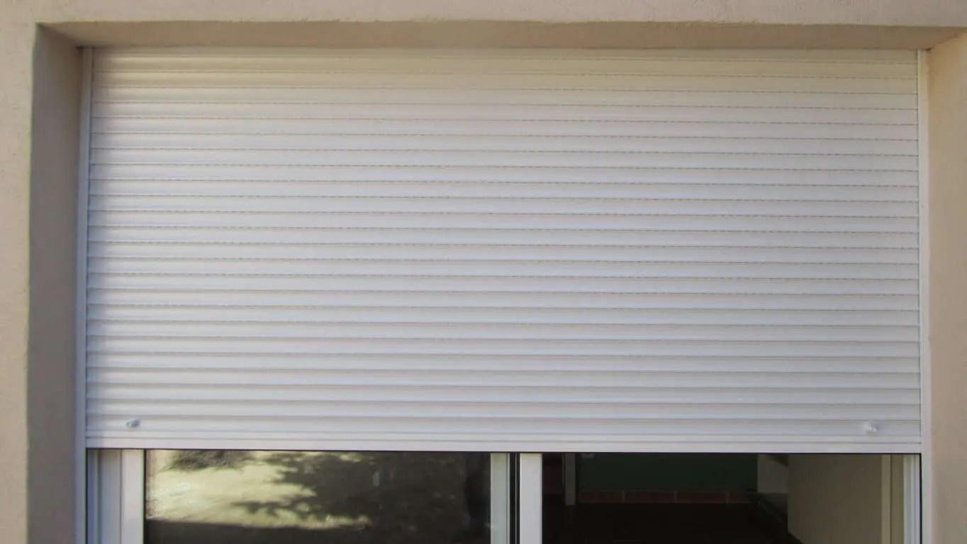 Pao Persiana PVC Blanco Lama 35  Medida 150 m ancho x
