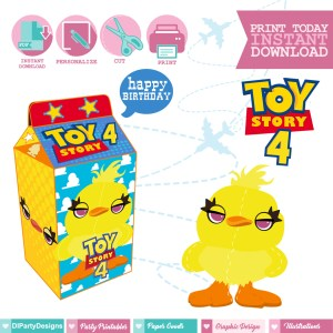 Toy Story 4 Caja Milkbox Ducky
