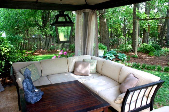 Relax al aire libre  decoracin relajante exterior