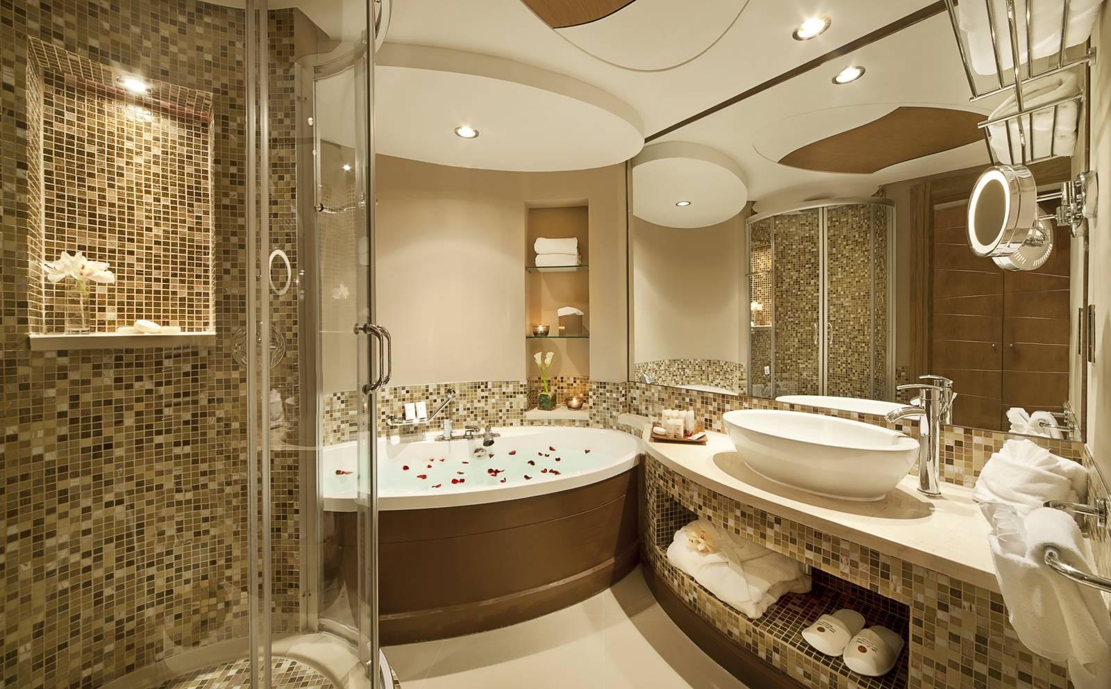 Lujosos cuartos de bao  cuartos de bao lujosos y elegantes
