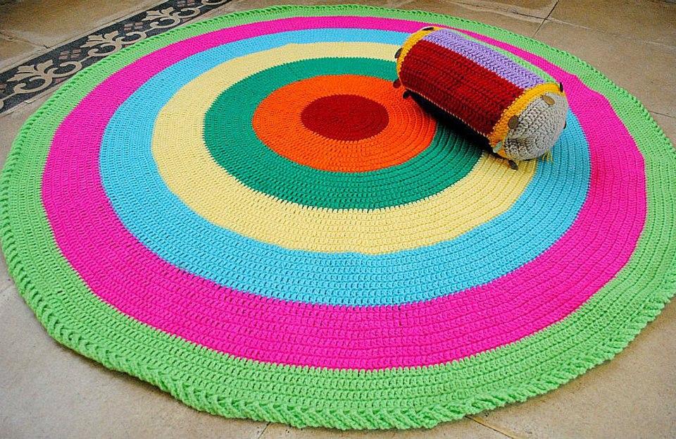 Alfombras crochet  Consejos para alfombras crochet  Ideas