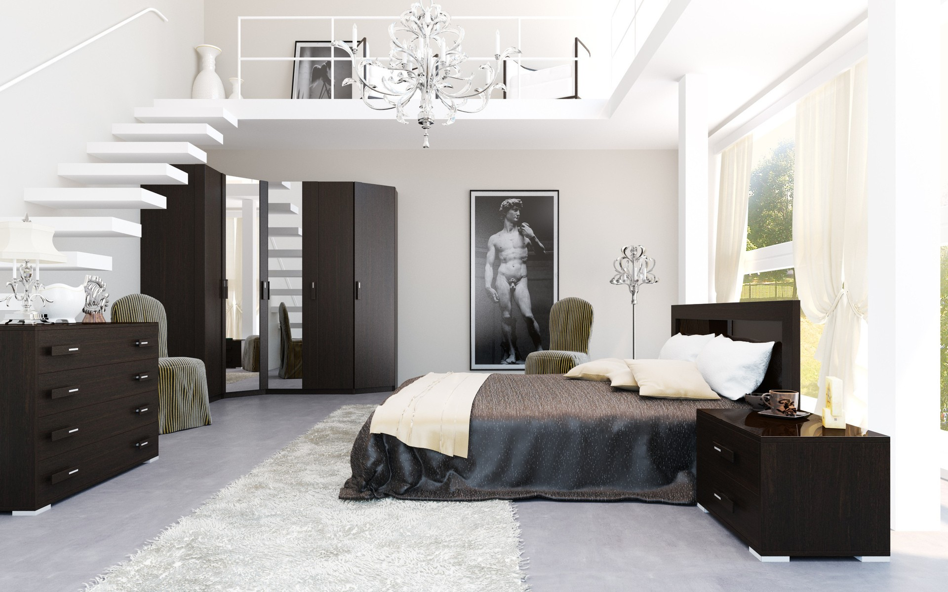 Habitaciones modernas  Decorar habitaciones modernas
