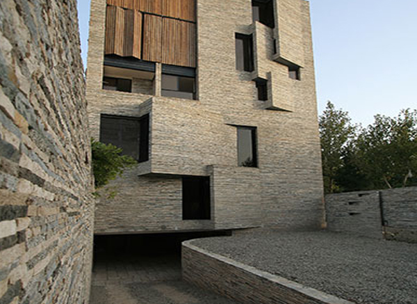 Fachadas de granito  Ideas de fachadas de granito