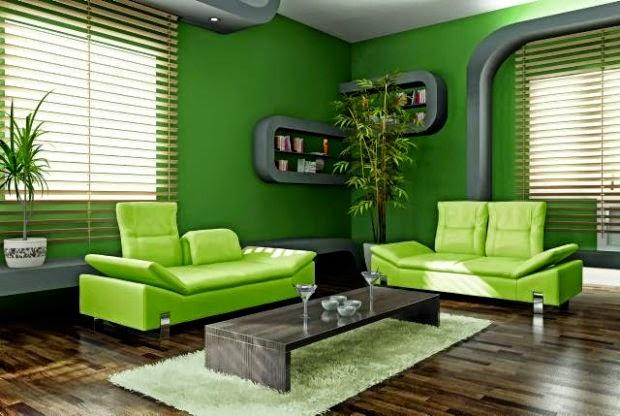 decorar con verde limn  Cmo lograr esta decoracin
