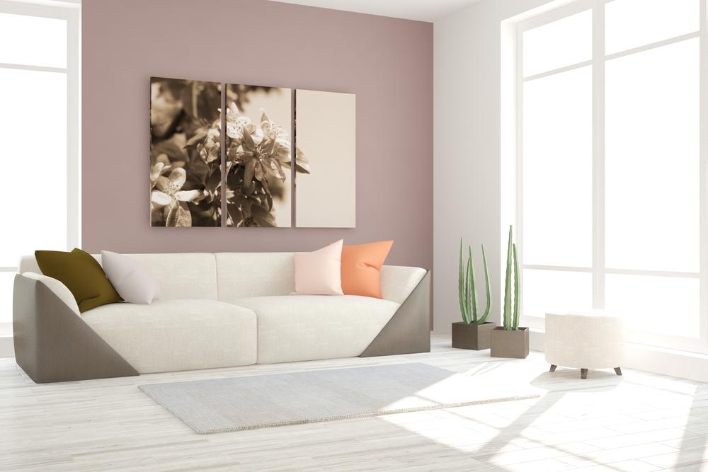 Pintura de salas modernas  Decoracionmodernanet
