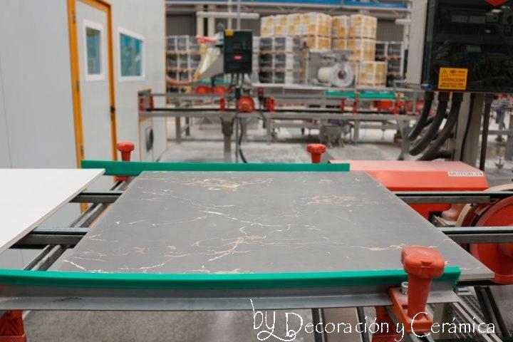 proceso de producción de un azulejo. como se hace un azulejo