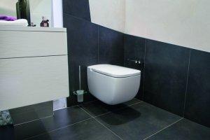 baño diseñado por A-Cero azulejos