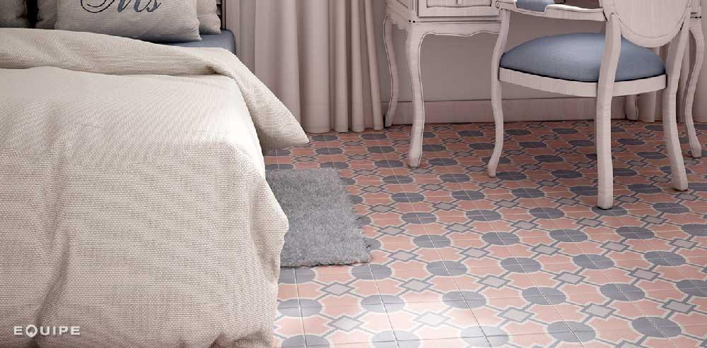 azulejo vintage estilo retro equipe ceramica