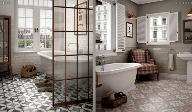 equipe-caprice baños estilo vintage