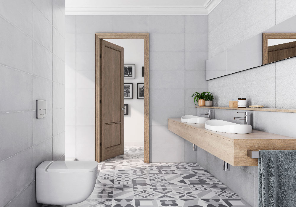 ure azulejos hidraulicos en ambientes modernos peronda gala y pamesa
