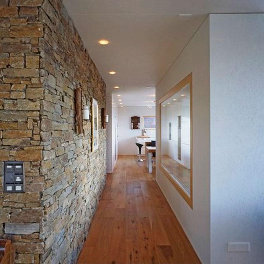 piedra natural para interior y exterior decoración rústica
