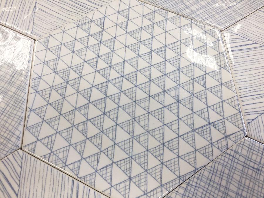 vezelay hexagonal azulejo peronda