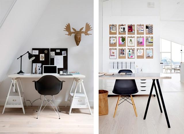 Home office Eames chair_black