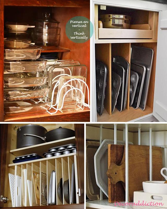 81_OrdenIdeas de almacenaje para la cocina  Organisation