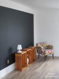 How to Color Block a Wall  Decor Adventures