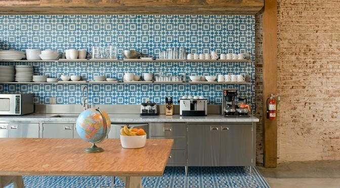 cement tile kitchen wooden spoons encaustic tiles the trend to watch out for decor aid modern design