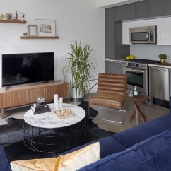 Living Room Design Tips Rooms With Brown Leather Sofas First Apartment I Decor Aid Blue Colored Sofa In