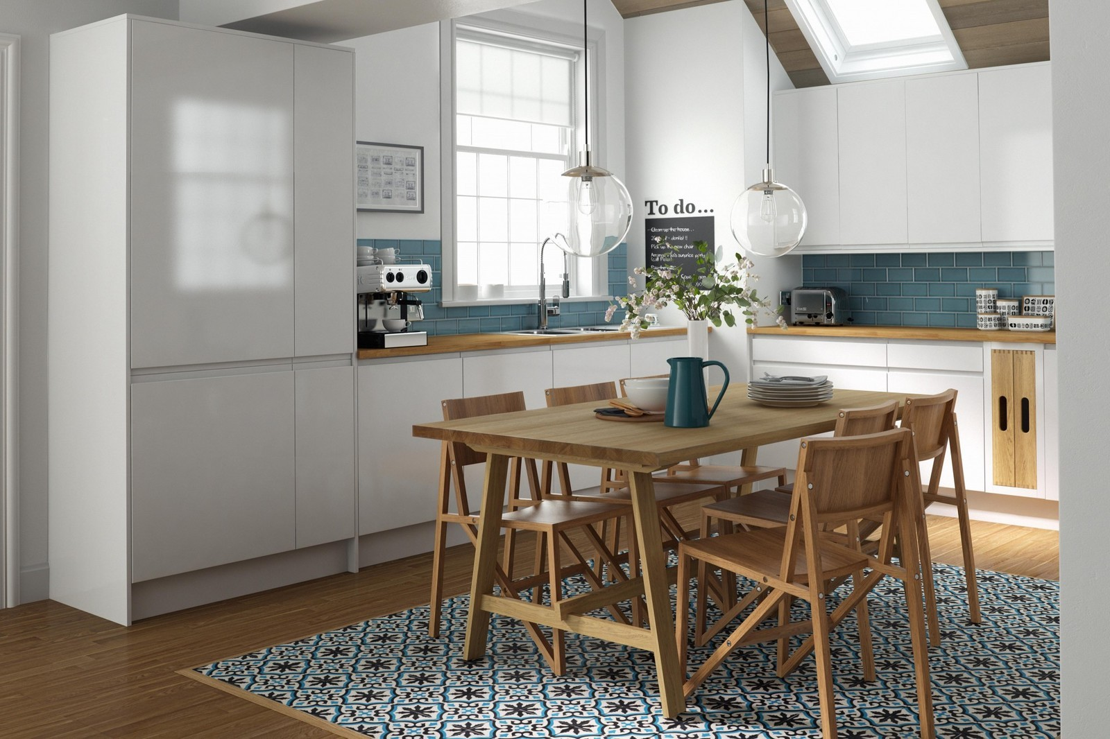cement tile kitchen marble counter encaustic tiles the trend to watch out for decor aid patterned floor white