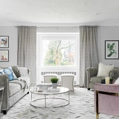 Color Sofas Living Room Open Window Between Kitchen And 15 Ways To Style A Grey Sofa In Your Home Decor Aid Gray Styling Tricks