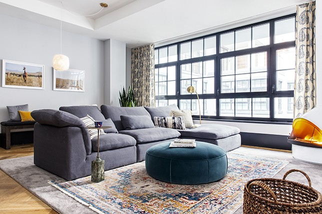 living room inspiration grey couch red gray and tan 15 ways to style a sofa in your home decor aid unique modern