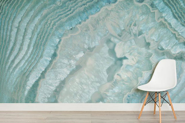 agate wallpaper design trends