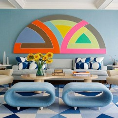 Living Room Pain Ideas Accent Chairs For With Arms 9 Best Paint To Try Now Decor Aid Geometric
