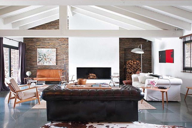 living room ideas modern rustic black and white design for 8 ways to a industrial decor aid