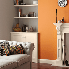 Brown Paint Living Room Pictures Raymour Flanigan Chairs Colors The 14 Best Trends To Try Decor Aid Citrus