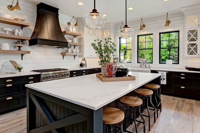 island kitchen ideas rustic painted cabinets 20 stunning styles to explore decor aid best 2019